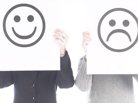 feliz o infeliz